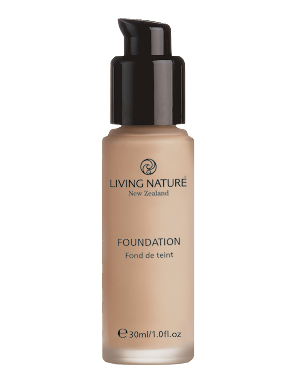 Living Nature Foundation Pure Taupe 30ml